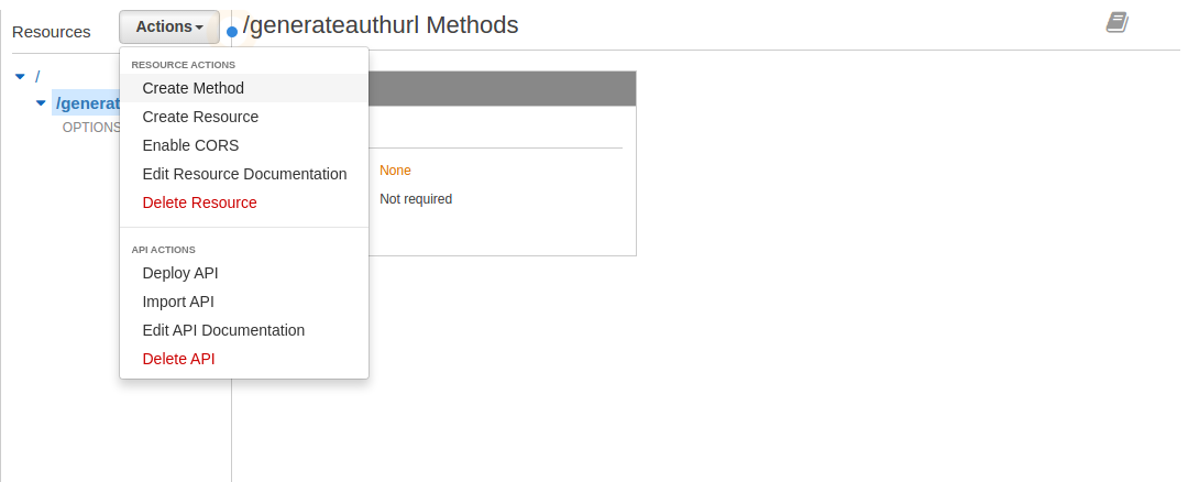 Oauthlambdacognito api gateway oauth create method malvernweather Gallery